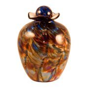 Hand Blow Glass Urn, Bella