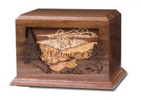 Mountain Scene (Inlaid 3-D)